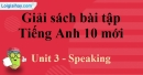 Speaking - Unit 3 SBT Tiếng Anh 10 mới