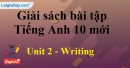 Writing - trang 18 Unit 2 SBT Tiếng anh 10 mới