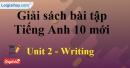 Writing - Unit 2 SBT Tiếng anh 10 mới
