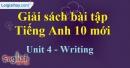 Writing - Unit 4 SBT Tiếng anh 10 mới