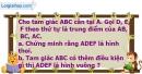 Bài I.2 phần bài tập bổ sung trang 101 SBT Toán 8 tập 1