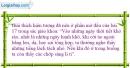 Bài 17.4 trang 36 SBT Vật lí 7