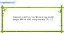 Bài 2.14 trang 68 SBT hình học 11