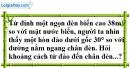 Bài 56 trang 114 SBT toán 9 tập 1