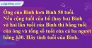 Bài 52 trang 15 SBT toán 8 tập 2
