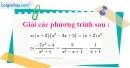 Bài 66 trang 17 SBT toán 8 tập 2