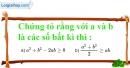 Bài 28 trang 53 SBT toán 8 tập 2