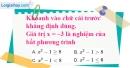 Bài 3.1 phần bài tập bổ sung trang 55 SBT toán 8 tập 2