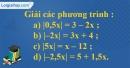 Bài 65 trang 59 SBT toán 8 tập 2