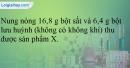 Bài 18.5; 18.6; 18.7 trang 38 SBT Hóa học 12