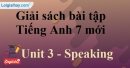 Speaking –  Unit 3 – SBT tiếng Anh 7 mới.