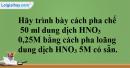 Bài 43.3 Trang 59 SBT hóa học 8