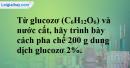 Bài 43.4 Trang 59 SBT hóa học 8