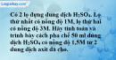 Bài 43.8* Trang 60 SBT hóa học 8