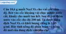 Bài 44.1 Trang 60 SBT hóa học 8