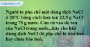 Bài 44.4 Trang 60 SBT hóa học 8