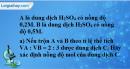 Bài 44.6* Trang 61 SBT hóa học 8
