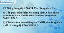 Bài 44.7* Trang 61 SBT hóa học 8