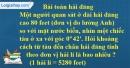Bài 76 trang 118 SBT toán 9 tập 1