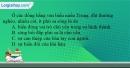 Câu 4 trang 15 SBT địa 12
