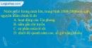 Câu 3 trang 19 SBT địa 12