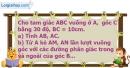 Bài 97 trang 122 SBT toán 9 tập 1