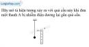 Bài 18.13 trang 40 SBT Vật lí 7