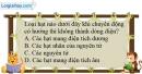 Bài 19.6 trang 42 SBT Vật lí 7