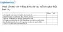 Bài 20.14 trang 46 SBT Vật lí 7