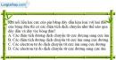 Bài 20.9 trang 45 SBT Vật lí 7