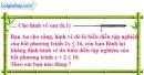 Bài 45 trang 56 SBT toán 8 tập 2