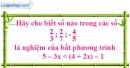 Bài 54 trang 58 SBT toán 8 tập 2