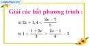 Bài 75 trang 61 SBT toán 8 tập 2