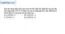 Bài III.1 trang 43 SBT Vật Lí 11