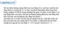Bài III.12 trang 47 SBT Vật Lí 11