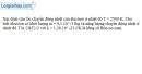 Bài III.14 trang 48 SBT Vật Lí 11