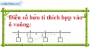 Bài 3 trang 5 SBT toán 7 tập 1