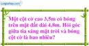 Bài 66 trang 115 SBT toán 9 Tập 1