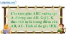 Bài 9.2 phần bài tập bổ sung trang 95 SBT toán 8 tập 1