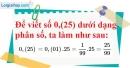 Bài 88 trang 23 SBT toán 7 tập 1