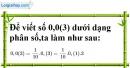Bài 89 trang 24 SBT toán 7 tập 1