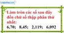 Bài 93 trang 25 SBT toán 7 tập 1