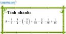 Bài 2.4, 2.5, 2.6 phần bài tập bổ sung trang 8 SBT toán 7 tập 1