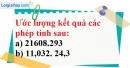 Bài 101 trang 26 SBT toán 7 tập 1
