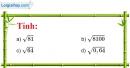 Bài 107 trang 28 SBT toán 7 tập 1