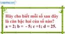 Bài 109 trang 28 SBT toán 7 tập 1