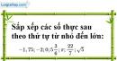 Bài 119 trang 30 SBT toán 7 tập 1