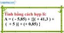 Bài 120 trang 30 SBT toán 7 tập 1