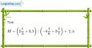 Bài 121 trang 31 SBT toán 7 tập 1