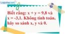 Bài 124 trang 31 SBT toán 7 tập 1